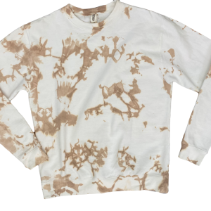 Branded Burlington Tie Dye Sweatshirt Nude