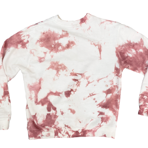 Branded Burlington Tie Dye Sweatshirt Rose